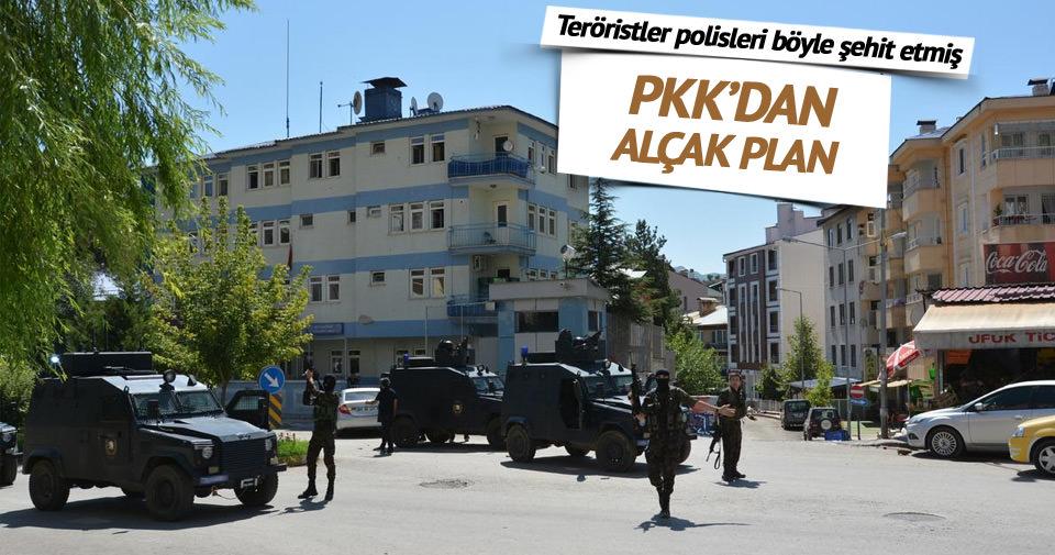 Şırnak'da teröristler polisleri böyle şehit etmiş