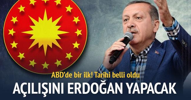 Cumhurbaşkanı Erdoğan ABD'nin ilk Türk İslam merkezini açacak