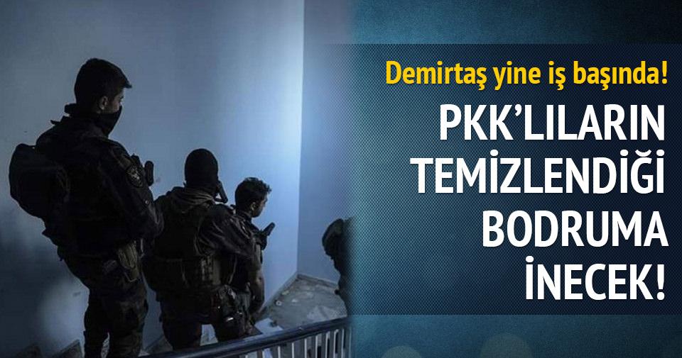 Demirtaş PKK'lıların öldürüldüğü bodruma inecek!