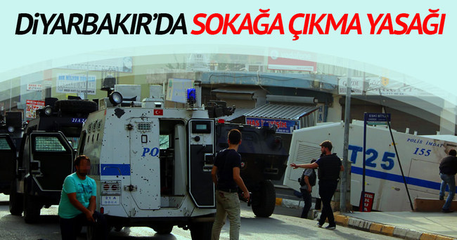 Diyarbakır Silvan'da sokağa çıkma yasağı ilan edildi