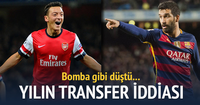 Büyük iddia: Arsenal Mesut için Barcelona'dan Arda'yı istiyor