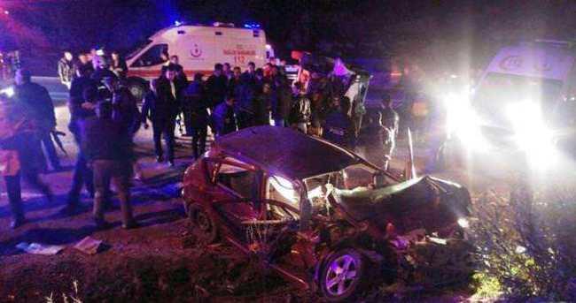 Mardin'de trafik kazası: 20 yaralı