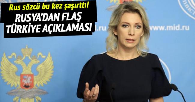 Rus sözcüden şaşırtan Türkiye açıklaması!