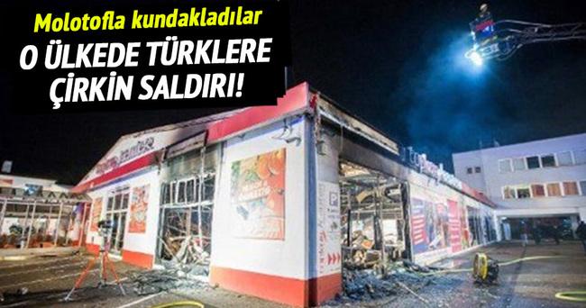 Almanya'da Türklere çirkin saldırı!