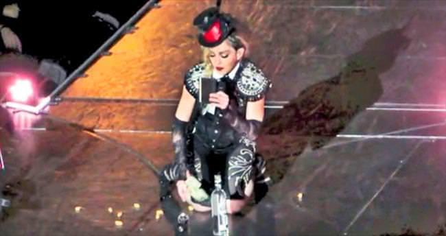 Madonna'nın çöküş turnesi