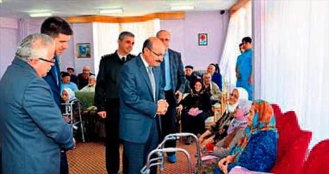 Burdurlu yaşlılar için yeni hizmet