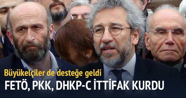 FETÖ PKK DHKP-C Dündar ittifakı kurdu