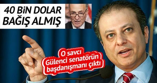 O savcı Gülenci senatörün başdanışmanı çıktı