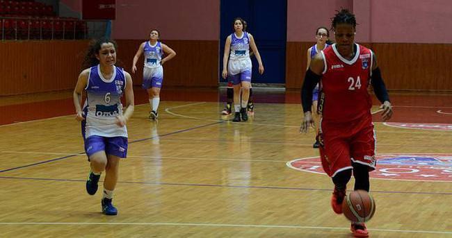 Kadınlar Basketbol Ligi'nde 107 sayılık fark