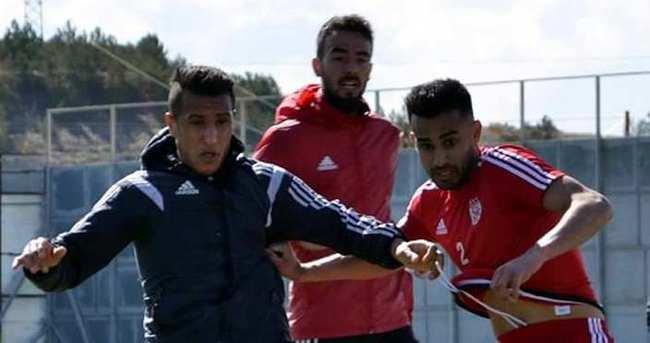 Medicana Sivasspor'da Bursaspor maçı hazırlıkları