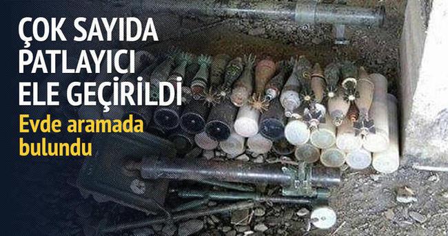 Yüksekova'da çok sayıda patlayıcı ele geçirildi