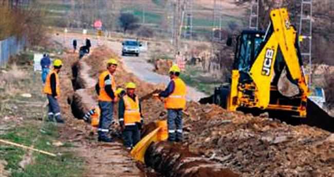 Bünyan'da doğalgaz projesine start verildi