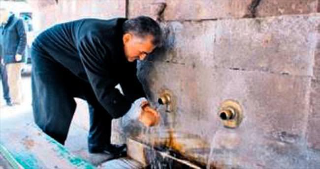 Çeşmesinden su içilen şehir Kayseri