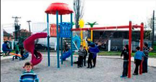 Kosova'da Kardeş Keçiören Parkı açıldı