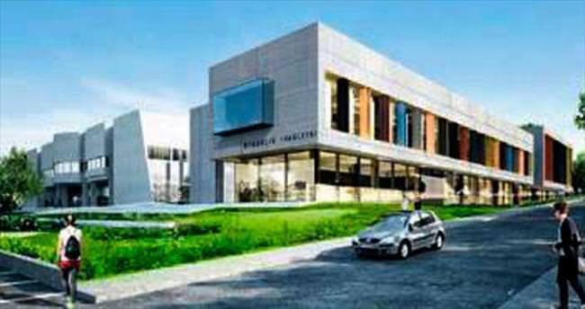 Uludağ Üniversitesi'ne mimarlık fakültesi binası