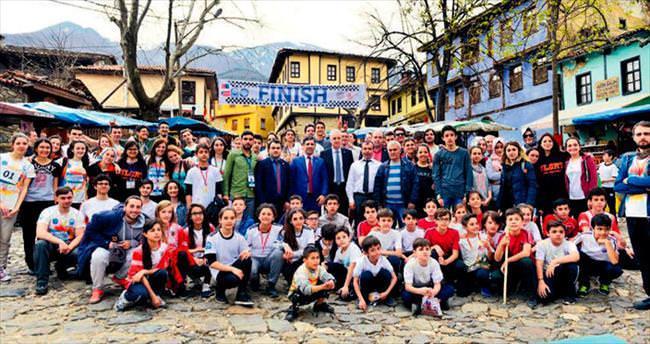 Tarihi köyde heyecanlı etap