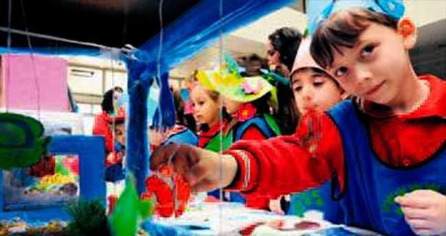 Dünya Su Günü'nde renkli kutlama