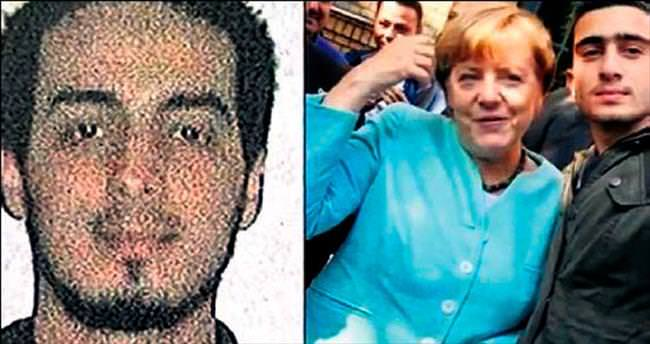 Merkel, bombacıyla selfie mi çektirdi?