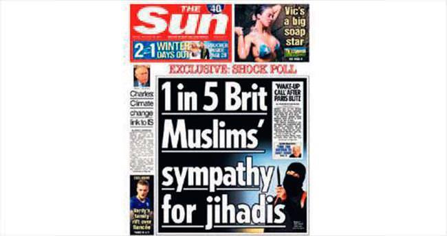 Müslümanları hedef alan manşet yanlış çıktı