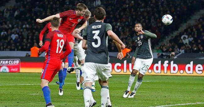 Gomez'in golü Almanlara yetmedi