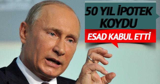 Putin'den Suriye petrolüne 50 yıllık ipotek