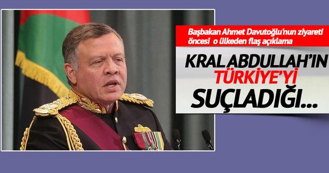 Ürdün: Kral Abdullah'ın Türkiye'yi suçladığı iddiaları asılsızdır