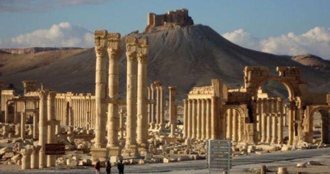 Palmira tamamen rejim güçlerinin elinde