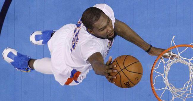 Kevin Durant üst üste 58. kez...