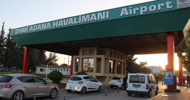 Adana Havalimanı'nda güvenlik önlemi üst seviyeye çıkarıldı