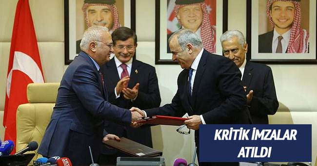 Türkiye ve Ürdün arasında kritik imzalar