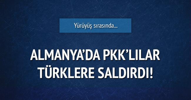 PKK'lılar Almanya'da Türklere saldırdı