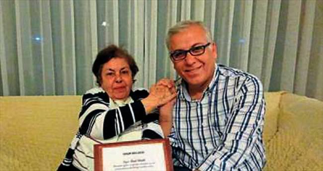 Nobelli Sancar'ın öğretmeni İzmir'de