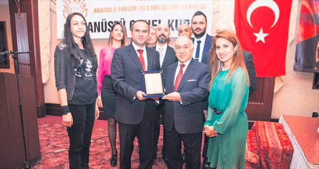 ATİD'de Aydın onursal başkan