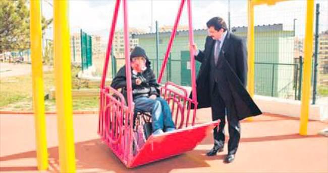 'Engelsiz Park' çocukları sevindirdi