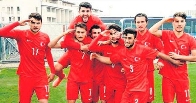 Genç Milliler tek golle güldü