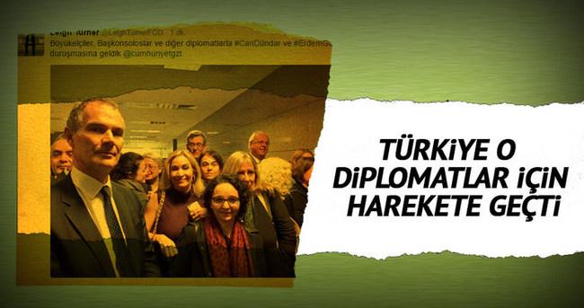 Türkiye o diplomatlar için harekete geçti