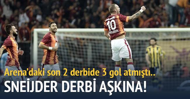 Sneijder derbi aşkına