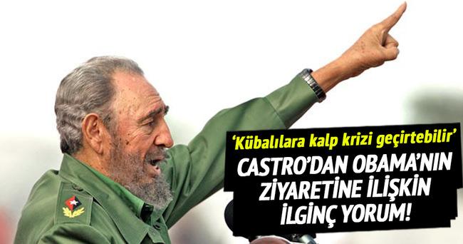 Castro'dan Obama'nın Küba ziyaretine ilişkin ilginç yorum