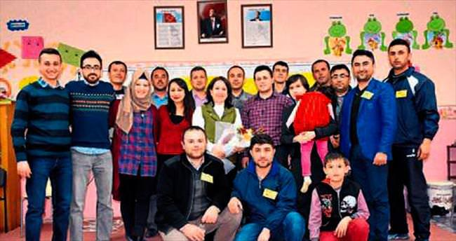 Burdur'da eğitim sırası babalarda
