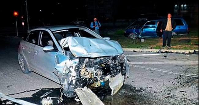 Manavgat'ta kaza: 1'i çocuk 4 yaralı