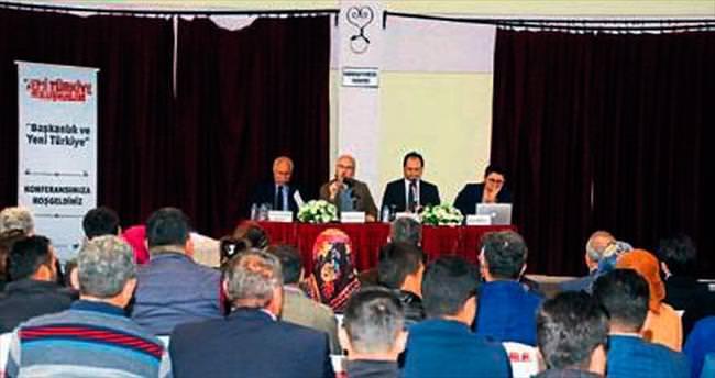 Yeni Türkiye için konferans serisi