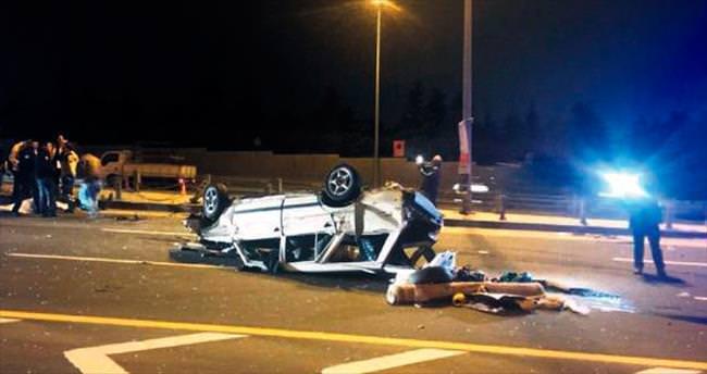 Kaza bir anneyi ailesinden ayırdı