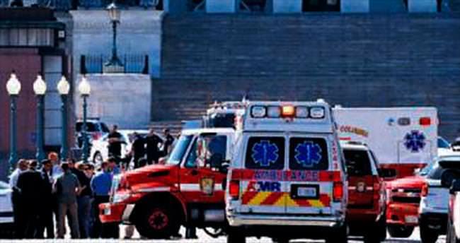 ABD Kongresi'nde korkutan saldırı