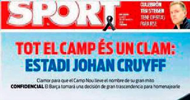 Johan Cruyff stadyumu!