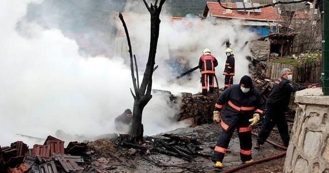 Ankara'da yangın: 3 ölü