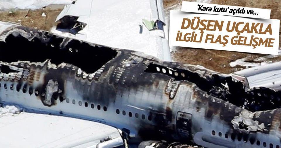 Rusya'da düşen uçakla ilgili şok gelişme