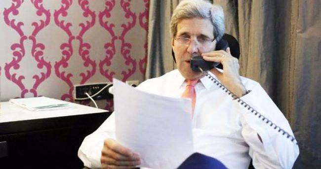 Kerry'den gece yarısı sürpriz 'Türkiye' telefonu