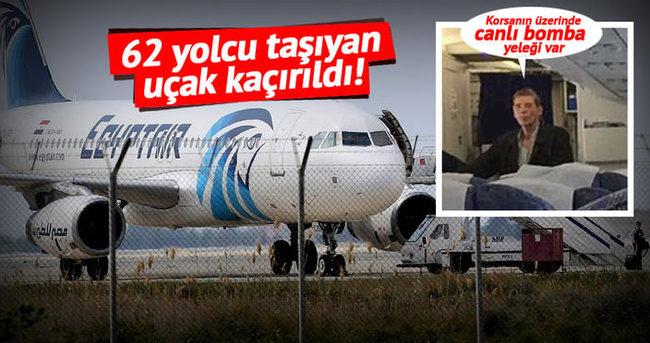 Mısır yolcu uçağı kaçırıldı!