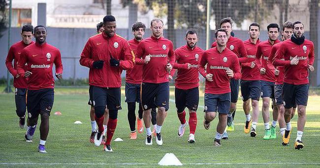 Galatasaray'da Eskişehirspor maçı hazırlıkları