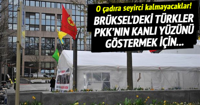 PKK'nın kanlı yüzünü anlatmak için çadır kuracaklar!